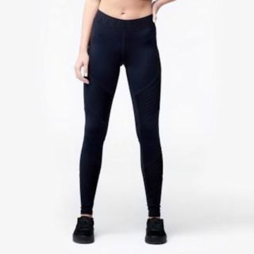 Ivy Park Pintuck Ankle Leggings - Womens - Black