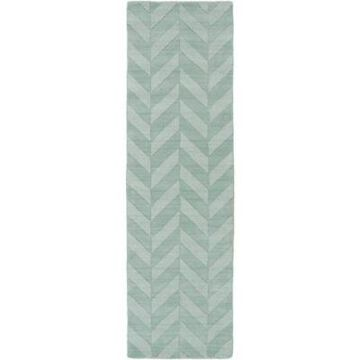 Artistic Weavers Central Park Carrie 2-Foot 3-Inch x 14-Foot Runner in Teal
