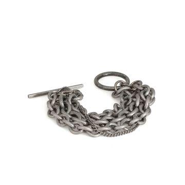 Ann Demeulemeester Antique Silver Bracelet