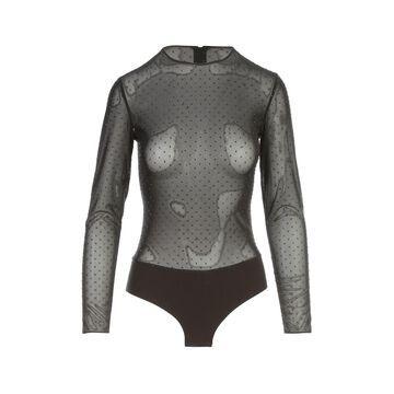 Les Hommes Bodysuit W/allover Swarovsky