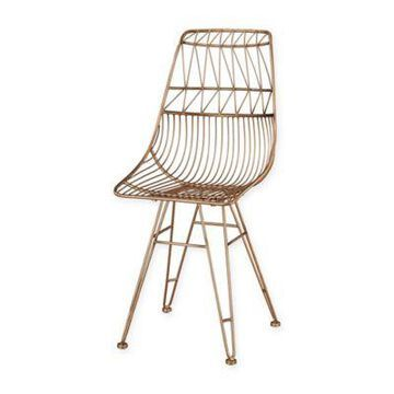 Sterling Industries Jette Chair in Rose Gold