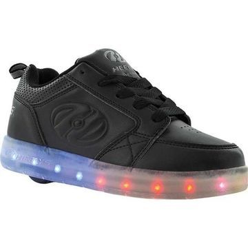 Heelys Children's Premium 1 Lo Light Up Sneaker Triple Black