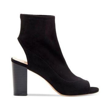INC International Concepts Womens Kayden Fabric Peep Toe Ankle