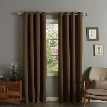 Aurora Home Thermal Insulated 108-inch Blackout Curtain