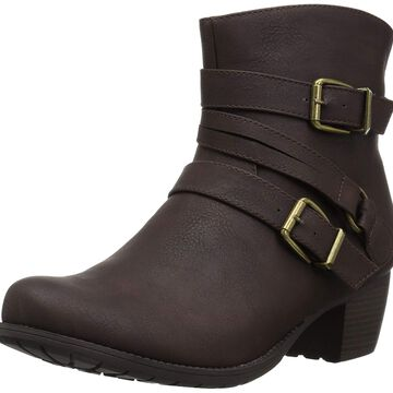 Easy Street Womens Coby Almond Toe Ankle Fashion Boots