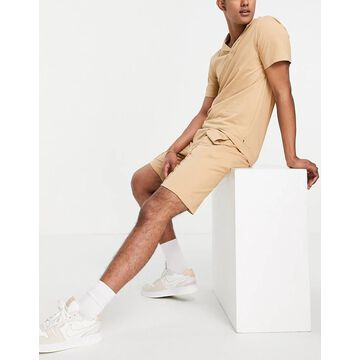Only & Sons sweat shorts in tan - part of a set-Brown