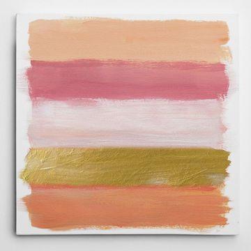 Wexford Home 'Coral Strokes' Multicolored Canvas Artwork