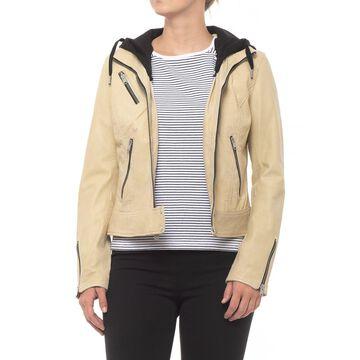 Marc New York Winona Washed Leather Jacket (For Women)