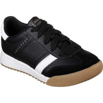 Skechers Boys' Zinger Sneaker Black/White