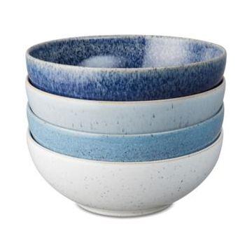 Denby Studio Blue Cereal Bowls, Set of 4