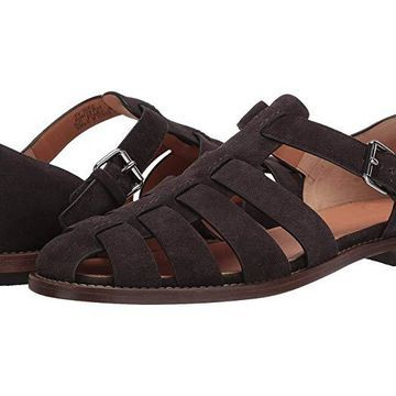 Church's Fisherman Sandal (Ebony Suede) Men's Sandals