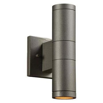 PLC Lighting 8024BZ Plc 2 Light Outdoor Fixture Troll-Ii Collection 80