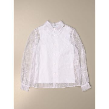 Ermanno Scervino shirt in Chantilly lace