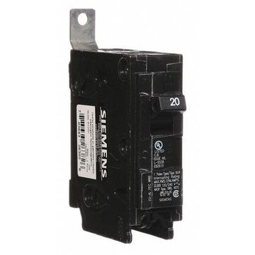 Miniature Circuit Breaker, 20 A, 120/240V AC, 1 Pole, Bolt On Mounting Style, BL Series