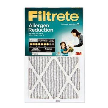 Filtrete 12x30x1, Allergen Reduction HVAC Furnace Air Filter, 1200 MPR, 1 Filter