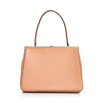 Loeffler Randall Olivia Leather Frame Bag