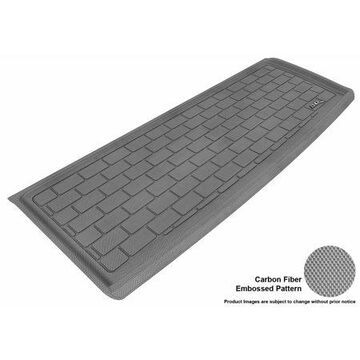 3D MAXpider 2009-2015 Honda Pilot All Weather Cargo Liner in Gray with Carbon Fiber Look