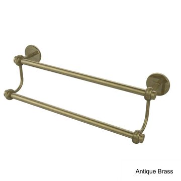 Allied Brass Satellite Orbit Two Collection 18-inch Twisted Accent Double Towel Bar
