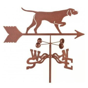 Ez Vane Pointer Dog Weathervane With Roof Mount