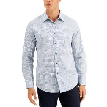 Tasso Elba Men's Rho Medallion Shirt, Created for Macy's