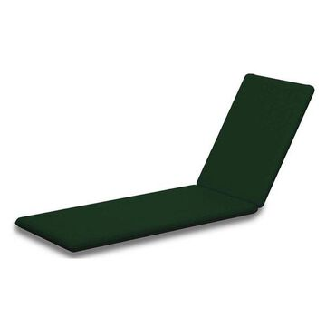 POLYWOOD Chaise Cushion, Forest Green