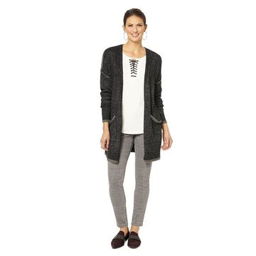 Democracy Women's Tipping-Detailed Cardigan