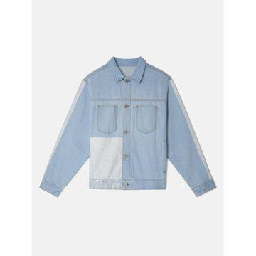 WeSC Blocked Denim Jacket