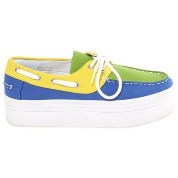 Jeffrey Campbell Multicolour Cloth Trainers