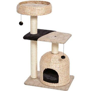 MidWest Feline Nuvo Nest Wicker Cat Tree & Scratching Post