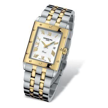Raymond Weil Women's 5381-STP-00308 'Tango' Two-Tone Stainless Steel Watch
