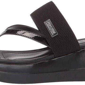 Kenneth Cole REACTION Women's Pepea Cross Platform Thong Sandal