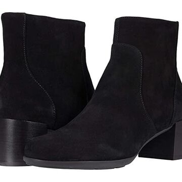 Geox New Annya 7 (Black) Women's Shoes