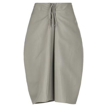 JIL SANDER NAVY 3/4 length skirt