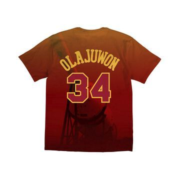 Men's Hakeem Olajuwon Houston Rockets City Pride Name And Number T-Shirt