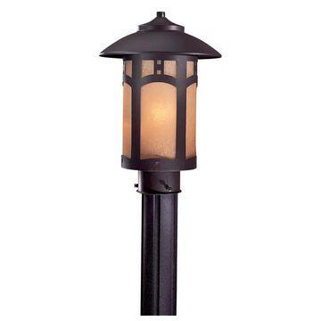 Minka-Lavery Harveston Manor One Light Post Mount 8726-A615B