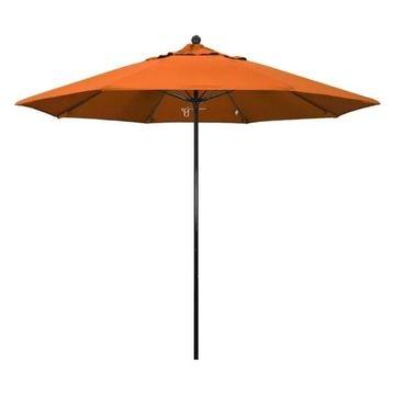 California Umbrella Oceanside 9' Black Market Umbrella, Tuscan