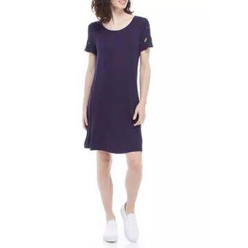 Ronni Nicole Women's Embroidered Shift Dress -