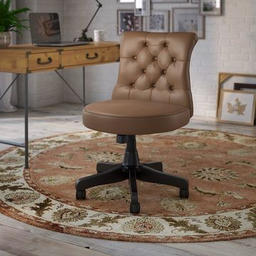 kathy ireland Home by Bush Furniture Ironworks Tufted Office Chair