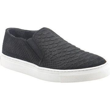 Diba True Women's Pick a Daisy Sneaker Black Snake Suede