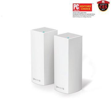 Linksys - Velop Tri-Band Mesh Wi-Fi System (2-pack) - White