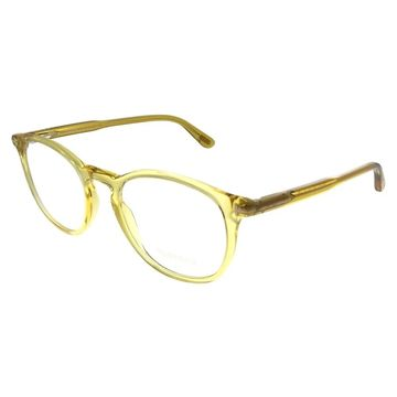 Tom Ford FT 5401 041 Unisex Transparent Yellow Frame Eyeglasses 51mm
