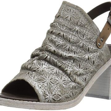 Naughty Monkey Womens Nyxx Leather Open Toe Special Occasion