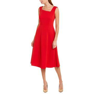 Donna Morgan Womens Midi Dress