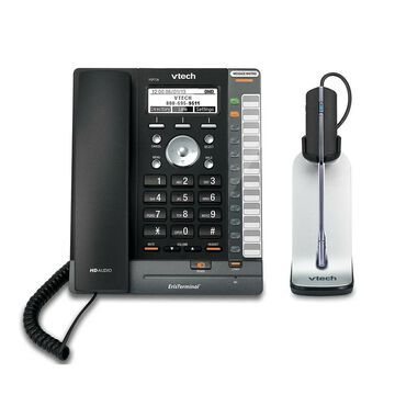 Vtech VSP726 plus one VH621 SIP Phone with Wireless Headset