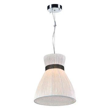 PLC Lighting 1-Light Pendant Nepro Collection 73019IVORY