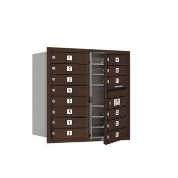 Salsbury Industries 4C Horizontal Mailbox 8-Door High Unit (30.5