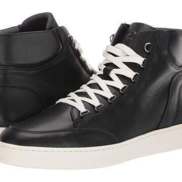 Aquatalia Pete (Black Calf) Men's Shoes