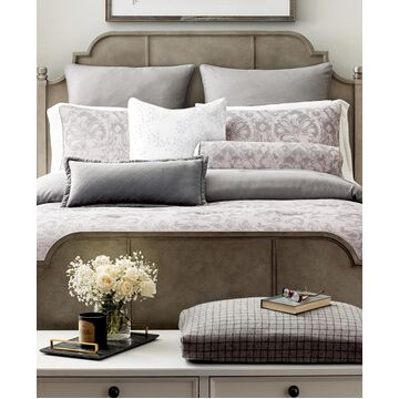 Rachael Ray Home Leaves Embroidery Throw Pillow Bedding
