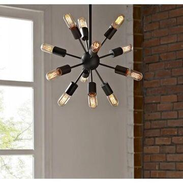 Herrick 20-inch 12-head Edison Light Pendant