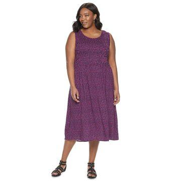 Womens Croft & Barrow Woven Dress